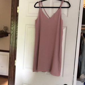 Topshop Pink Dress
